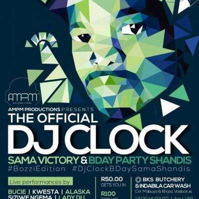 DJ Clock SAMA BDay Shandis